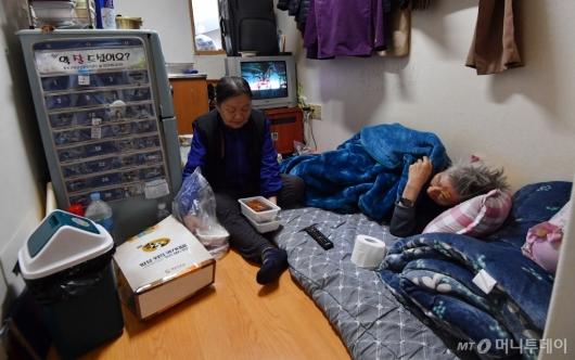 [사진]설 앞둔 취약계층 어르신들