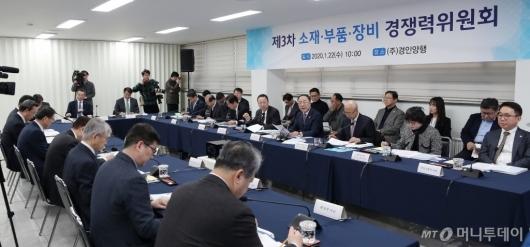 [사진]'제3차 소·부·장 경쟁력위원회' 개최