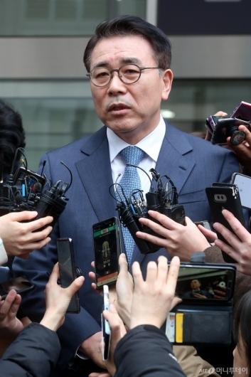 [사진] '신한은행 채용 비리' 조용병 회장 1심 징역 6월 집행유예 2년