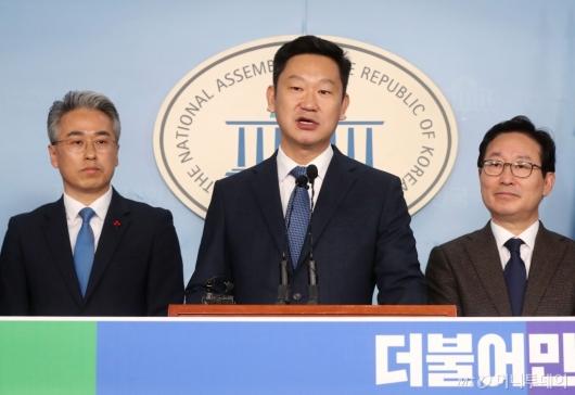 [사진]노무현 사위 곽상언, 민주당 입당
