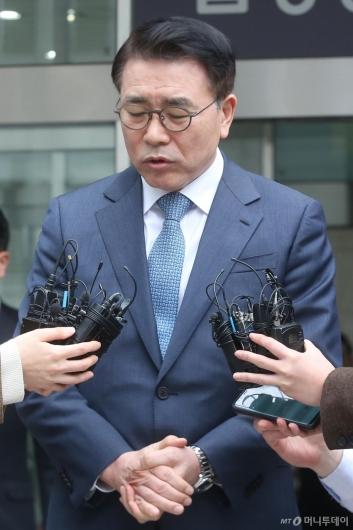 [사진]조용병 회장, 1심서 징역6월 집행유예 2년 선고