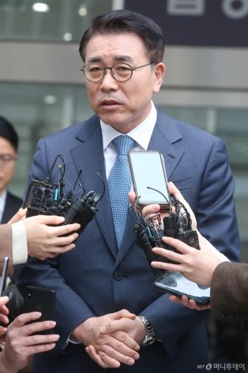 [사진]'채용비리 혐의' 조용병 신한금융 회장, 1심서 유죄 선고