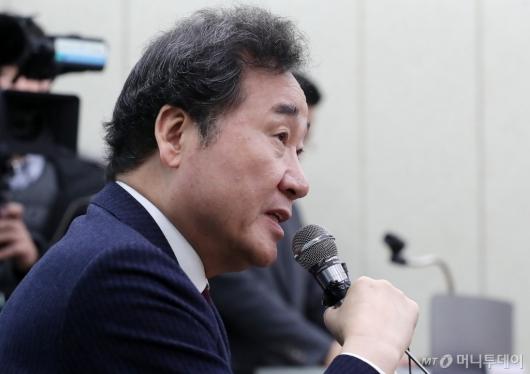 [사진]이낙연 전 국무총리 '4.15 총선, 종로 출마할 것'