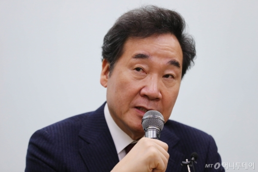 [사진]총선 출마 선언하는 이낙연 전 총리