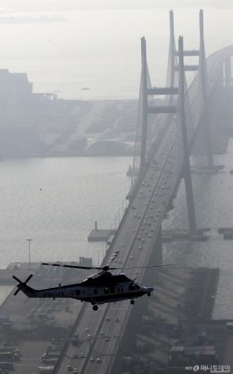 [사진]'아직은 원활한 서해대교 인근 고속도로'