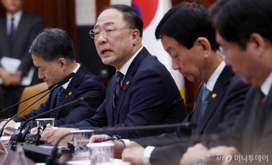 [사진]'우한 폐렴' 방역예산 지원 및 경제영향 최소화 점검