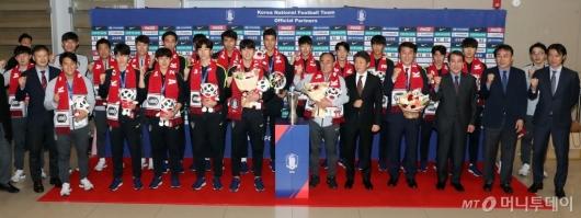 [사진]U-23 대표팀 '금의 환향'
