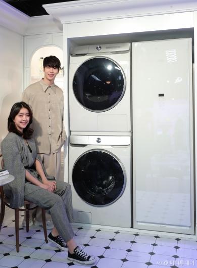 [사진]삼성전자 '그랑데 AI 세탁기·건조기' 출시