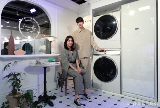 [사진]삼성전자 '세탁기와 건조기도 인공지능'