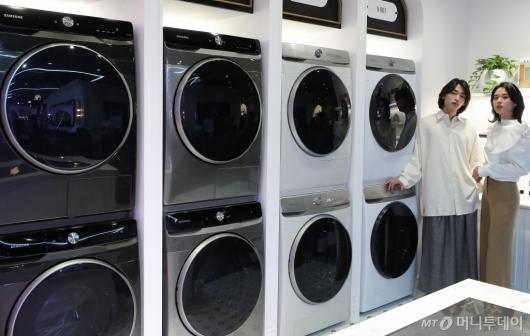 [사진]'집안 일 편하게 하세요' 삼성전자 그랑데AI 출시