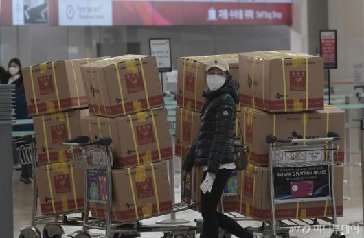 [사진]중국으로 보내질 마스크