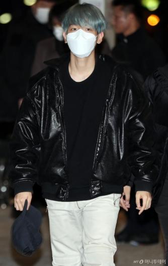 [사진]슈퍼엠 백현 '미주투어 떠나요'