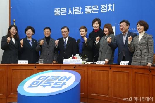 [사진]민주당, '우생순' 주역 임오경 전 감독 15호 인재영입