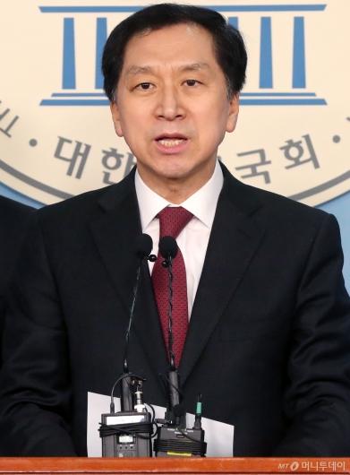 [사진]기자회견하는 김기현 전 울산시장