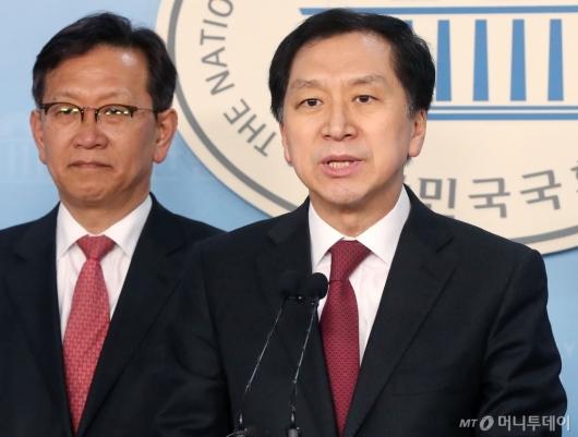 [사진]김기현, 울산시장 부정선거 관련 기자회견