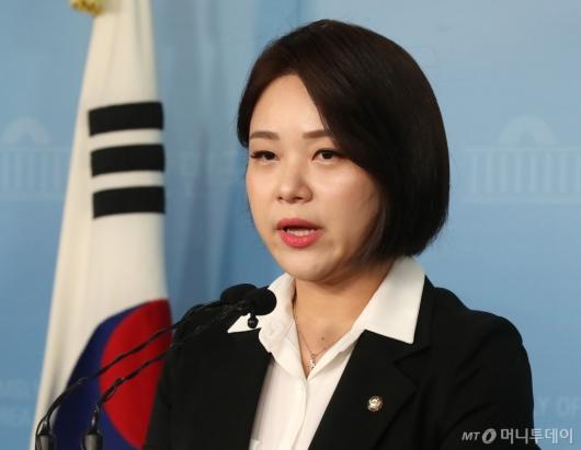 [사진]총선 출마 선언하는 정은혜