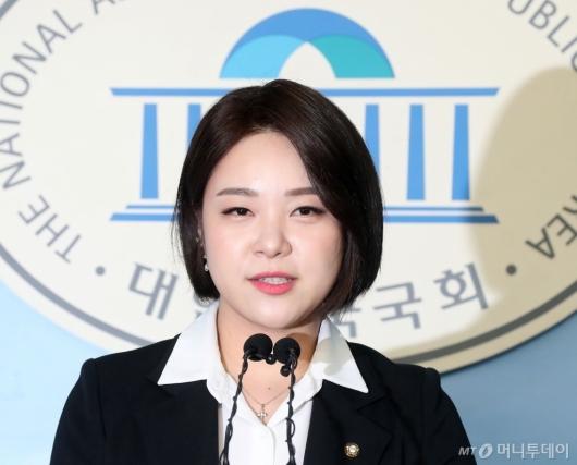 [사진]정은혜, 총선 출마 선언 기자회견