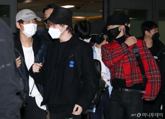 [사진]NCT DREAM '마스크 쓰고 입국'