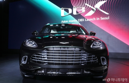 [사진]웅장함 갖춘 애스턴마틴 'DBX'