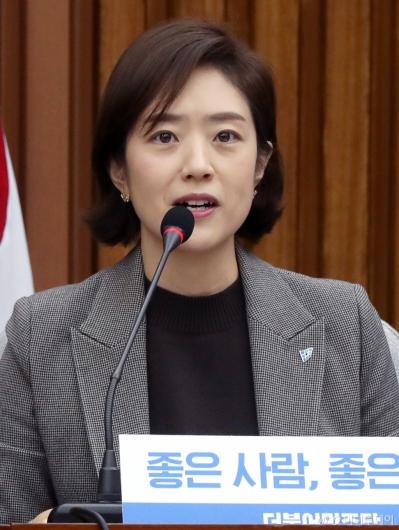 [사진]민주당 영입인재 소개하는 고민정
