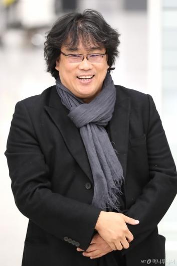 [사진]밝게 웃는 봉준호 감독