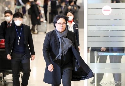 [사진]봉준호 감독, 화려한 귀국