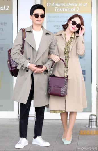 [사진]인교진-소이현 '패션은 봄이죠!'