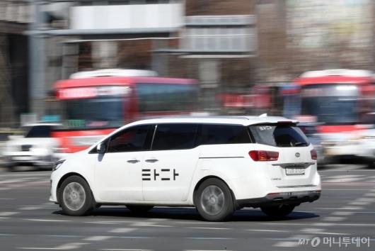 [사진]여객자동차 운수사업법 위반 혐의 '타다의 운명은?'