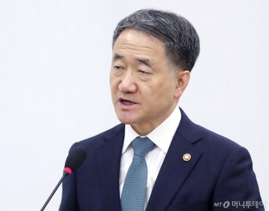 [사진]박능후 장관 현안 보고