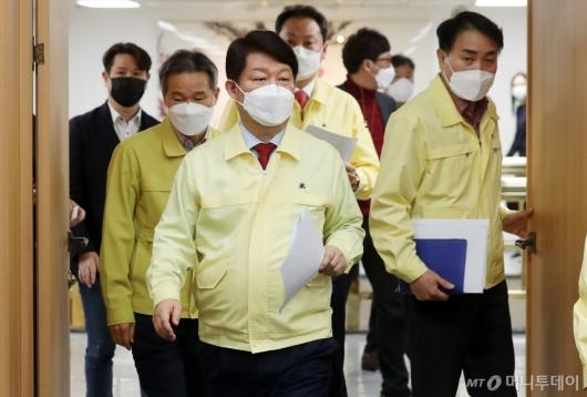 [사진]'코로나19' 대응 관련 브리핑 나선 권영진 시장