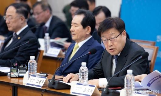 [사진]김영주 협회장 '수출 확대를 위해'