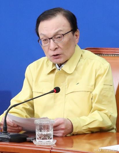 """[사진]민주당 """"대면 선거운동 전면 중단, 코로나19 극복 전념"""""""