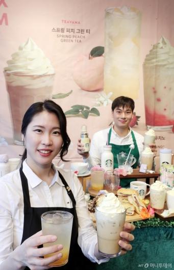 [사진]달콤한 '슈크림 라떼' 맛보세요!
