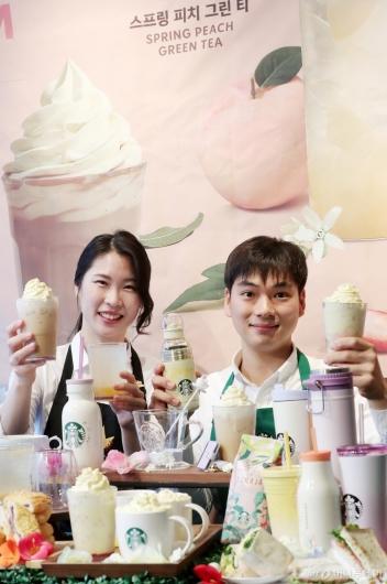 [사진]봄 대표 음료 '슈크림 라떼' 찾아왔어요!