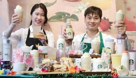 [사진]봄 시그니처 음료 '슈크림 라떼'