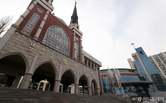 [사진]청도 방문한 명성교회 부목사·신도 자가격리