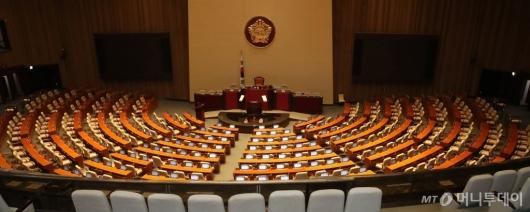 [사진]텅 빈 국회 본회의장