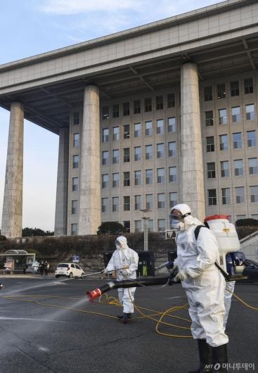 [사진]국회 임시 폐쇄