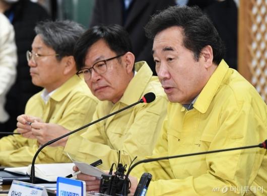 [사진]고위당정협의 발언하는 이낙연