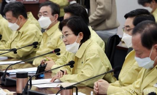 [사진]발언하는 김미경 은평구청장
