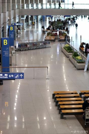 [사진]썰렁한 입국장