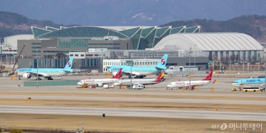 [사진]하늘길 막힌 국내 항공업계