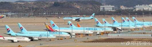 [사진]하늘길 막힌 항공업계