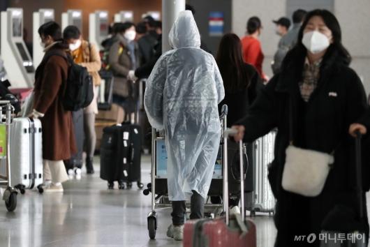 [사진]'불안한 출국길'