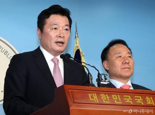 [사진]김철근, 미래통합당 입당