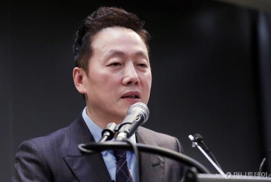 [사진]정봉주, 비례정당 '열린민주당' 창당 선언