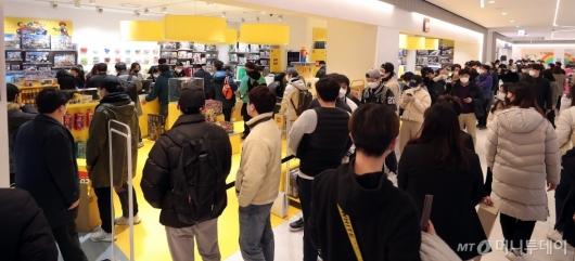 [사진]'코로나19'도 막지 못한 갤러리아 광교점 오픈 열기