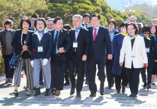 [사진]열린민주당, 비례대표 후보자 경선 참가자 공개