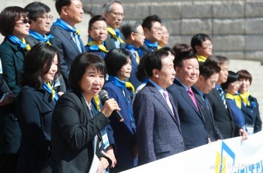 [사진]발언하는 손혜원 의원
