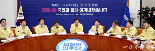 [사진]코로나19 대응 당정청회의